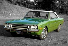 Jackson Clarke's car is a Dodge Dart Swinger. 1972 Dodge Dart Swinger by Mrs Rachel, via Flickr