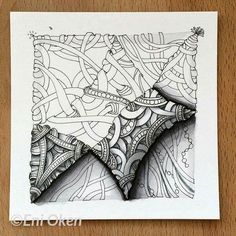 Zentangle, Eni Oken, CZT