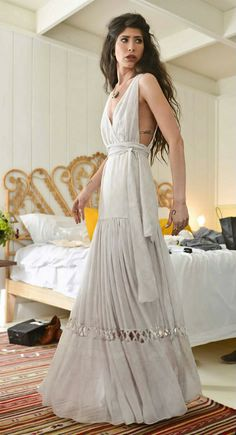 Bohemian Chic Wedding Dresses | Inspiration for a Country Bohemian Style Wedding