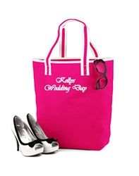 Personalised Bridal Tote Bag1 Choice of 3 colours (White, Pink and Orange) available from WowWee.ie: €20.00