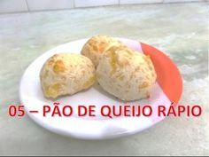 05 - Pão de Queijo RÁPIDO de 3 ingredientes #005
