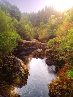Glen Trool, Galloway Forest Dark Sky Park, Scotland.