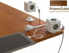 ★ iJoe.hu Apple Authorised Reseller > Mac kiegészítők :: allocacoc PowerCube ötletes 230 Voltos kocka elosztó, akár USB porttal is ★