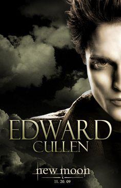 Picture of The Twilight Saga: New Moon Twilight Poster, Twilight Saga Series, Twilight Edward, Edward Bella, Twilight New Moon, Twilight Movie, Edward Cullen, Vampire Twilight, Nikki Reed