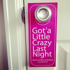 Contact me for your custom door hangers #bachelorette #doorhanger #weddingdoorhanger #maidofhonor #groomsgift #groom #handmade #wedding #weddingbag #welcomebag #weddingideas #bridesmaid #weddingparty #weddingwelcomebag #brownbag #weddingfavorbag #weddingfavor #weddingplanner #weddingdetail #weddingphotographer #etsy #diywedding #diyproject #diy #weddinggift #destinationwedding #pinterestwedding #etsywedding