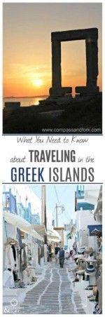 Planning a trip to the Greek Islands. Here is all you need to know about traveling in the Greek Islands. www.compassandfork.com