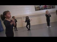 Oh so funny!  This is what dance is really like with the tiny ones.