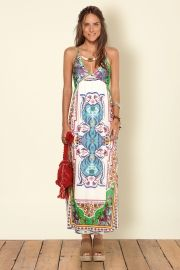 vestido longo tulum