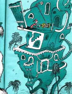 Image detail for -compare with later dr seuss buildings from the sleep book