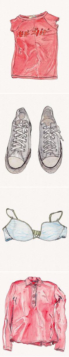 "soledad penades ~ drawings from ""summer struggle"""