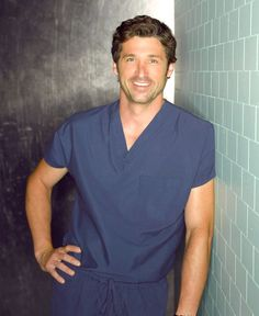 Patrick Dempsey: Grey's Anatomy:Best known as Mc Dreamy,Dempsey portrays Dr Derek Sherperd a neurosurgeon on the ABC drama Grey'S Anatomy.