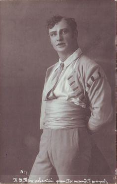 "Kipras Petrauskas - Jacques Offenbach opera ""La Périchole"" | Dmitrijus Bistrovas | [1918] | Kauno miesto muziejus | Public Domain"