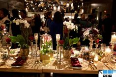 Tablescapes designed by Studio AG at Wit Hotel's bridal show
