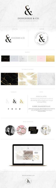 Brand + Website Design for Designerie & Co. - Designerie & Company