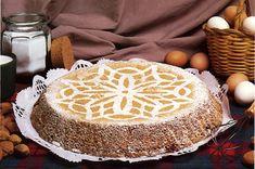 Torta de ametla. Recetas de la provincia  de Alicante