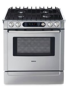 Bosch gas stove with electric/convection oven