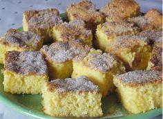 Gyors túrós-joghurtos sütemény Hungarian Recipes, Winter Food, Cornbread, French Toast, Deserts, Muffin, Dessert Recipes, Food And Drink, Easy Meals