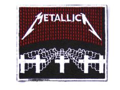 Check out this item in my Etsy shop https://www.etsy.com/hk-en/listing/261441903/metallica-band-patch-badge-patch-logo
