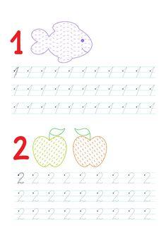 Montessori Math, Preschool Worksheets, Printable Worksheets, Preschool Activities, Baby Crafts, Crafts For Kids, Sudoku, Sensory Activities Toddlers, Petite Section