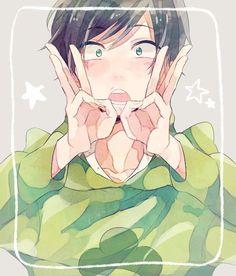 Imagen de anime, osomatsu-san, and choromatsu