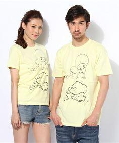 コラボレーションTシャツ/Wisut Ponnimit (Mamuan & Manao 02)