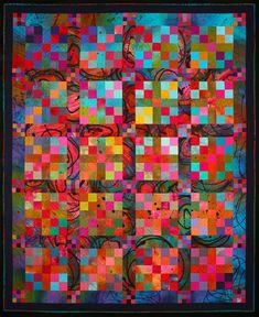 Sue Benner, Four Patch II: Winter Blaze, 1993