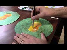 Mulher.com 22/03/2013 Luiz Poletti - Pintura em papelao  parte 1