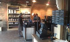 Wait No More! The Germack Coffee Shop Opened This Morning!