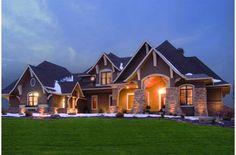 Houseplans.com Plan #56-592 Front Elevation