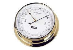 The Endurance Barometer is part of an extensive line of nautical instruments that feature several remarkable benefits. All instruments in the Endurance Collecti Outdoor Wall Clocks, Brass Instrument, Weather Instruments, Whitehall Products, Beveled Glass, Timeless Beauty, Accessories, Sea Level, Collection