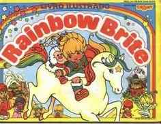Album Rainbow Brite = Editora Cromy = Vazio Em Ótimo Estado - R$ 13,00