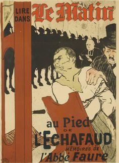 Le Matin / Au Pied de l'Echafaud. 1893. Henri de Toulouse-Lautrec.