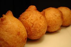 Okinawan Dango (Okinawa Donuts) ...reminds me of festivals back home!