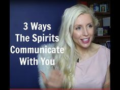 3 Ways The Spirits Communicate With You - YouTube