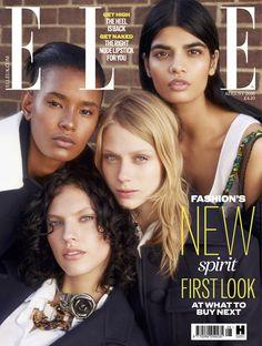 Bhumika Arora covers | Bhumika Arora, Ysaunny Brito, Sofie Hemmet & Maggie Jablonski in Elle ...