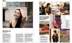 Michelle Lai featured in Urbis Magazine June 2014 Issue  http://urbismagazine.com/magazines/urbis/2014/urbis-jun-jul-2014-80/