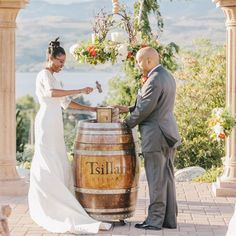 Wine Box Ceremony Tradition. A sentimental nice touch for the reception, after cake cutting