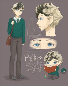 Ref: Phillipo by Noroky on DeviantArt
