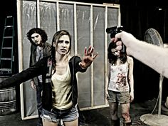 "Dylan Nunez, Melanie Crim & Julie A. Selva in ""The Revenants,"" directed by Erynn Dalton at Infinite Abyss Productions in Fort Lauderdale."