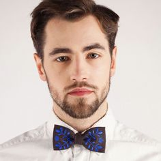 Mucha folk ciemnobrązowa, haft krakowski - Rękodzieła i Handmade od Matuula Folk, Bowties, Stylish, Instagram Posts, Men, Image, Store, Handmade, Tie Bow