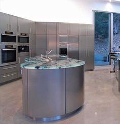 cocinas ilumina tu encimera de cristal o vidrio con luces de led