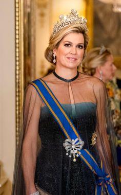 Eindelijk is het zover: Máxima draagt de Stuart-diamant! | ModekoninginMaxima.nl