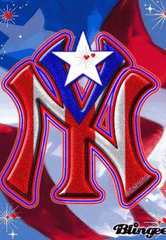 The puerto rico Go Yankees, Yankees Logo, New York Yankees Baseball, Giants Football, Puerto Rican Memes, Puerto Rican Flag, Pr Flag, Puerto Rico Pictures, Puerto Rico Island