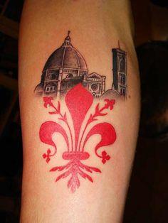 Giglio Di Firenze With Il Duomo