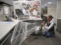 You're sure to generate a lot of laughs if you try one of these work pranks. photo by akeg on Flickr