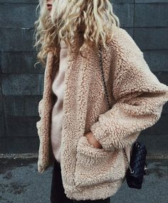 The €30 teddy coat from Penneys that's all over Instagram | Her.ie