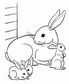Easter Bunny Colouring, Bunny Coloring Pages, Butterfly Coloring Page, Free Coloring Sheets, Free Printable Coloring Pages, Coloring Books, Family Coloring Pages, Coloring Pages For Girls, Coloring Pages To Print