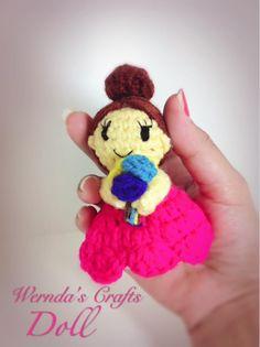Amigurumi doll crochet by Wernda's crafts