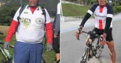 Paulista muda a alimentação, adere à bicicleta e emagrece 30 kg