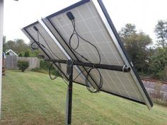 Universal solar panel pole mount kit, holds 2 large panels or 4 100 watt pan. Solar Panel Kits, Solar Energy Panels, Solar Panels For Home, Best Solar Panels, Solar Energy System, Luz Natural, Solar Roof Tiles, Solar Projects, Energy Projects